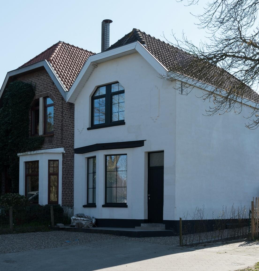 Halfopen woning in de groene rand van Gent